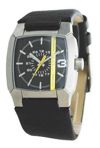 - Diesel Men's DZ1089 Black Not-So-Basic Basic Analog Black Dial Watch