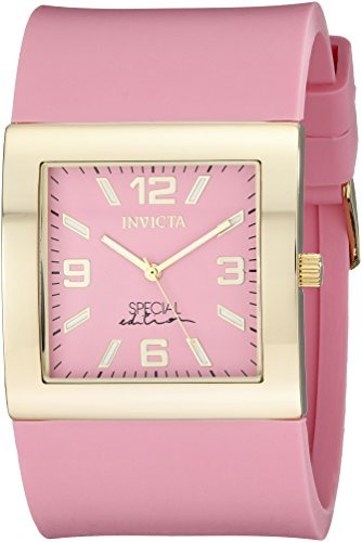 Invicta Womens 18812 Angel Analog Display Japanese Quartz Pink Watch