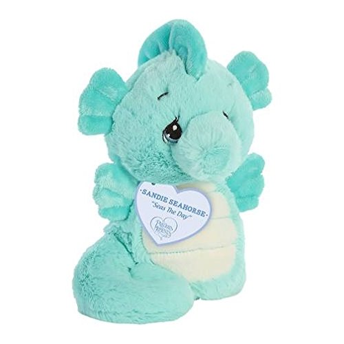 Aurora World Precious Moments Plush Animal, Sandie Seahorse
