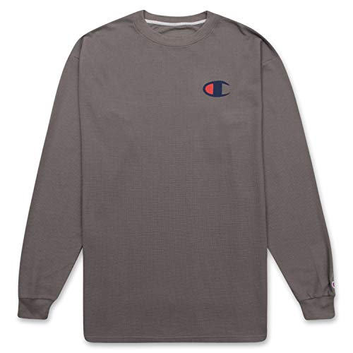 Champion Long Sleeve Shirt Mens Big and Tall Waffle Crewneck Thermal