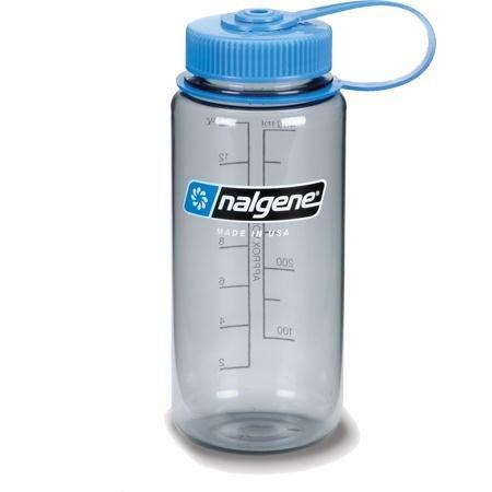 Nalgene Everyday Wide Mouth Bottle 1 Pint Silver