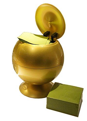iTouchless Sensor Apple Napkin/Tissue dispenser, Glossy Gold