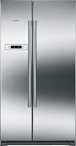 Siemens iQ300 KA90NVI30 Kühl-/Gefrierkombination Side-by-Side / A++ / Kühlteil: 373 L / Gefrierteil: 200 L / Edelstahl / NoFrost / LED-Beleuchtung