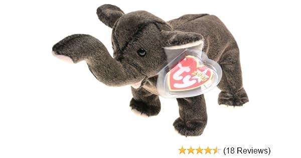 a2efd0f42a9 Amazon.com  Ty Beanie Babies - Trumpet the Elephant  Toys   Games