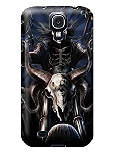 Customize Customizable fashion skull pictures Diary Case for samsung Galaxy s4 #1