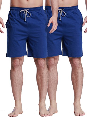CYZ Collection CYZMen'sSleepShorts-Blue2PK-2XL by CYZ Collection