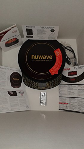 NuWave Platinum 30401 Precision Induction Cooktop, Black with Remote and Advanced Features for 2017