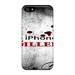 7AM Iphone 5/5s Hybrid Tpu Case Cover Silicon Bumper Iphone Blood