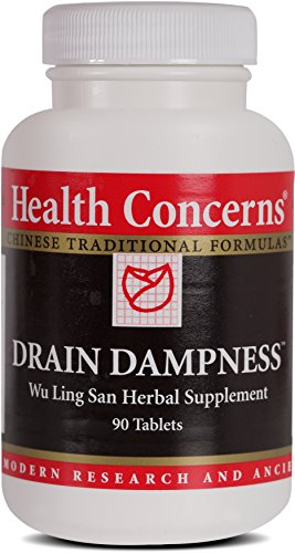 Health Concerns – Drain Dampness – Wu Ling San Herbal Supplement – 90 Tablets