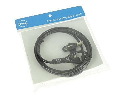 Dell Premium 6-Foot Universal Notebook Security Keyed Cable Lock J1XD6