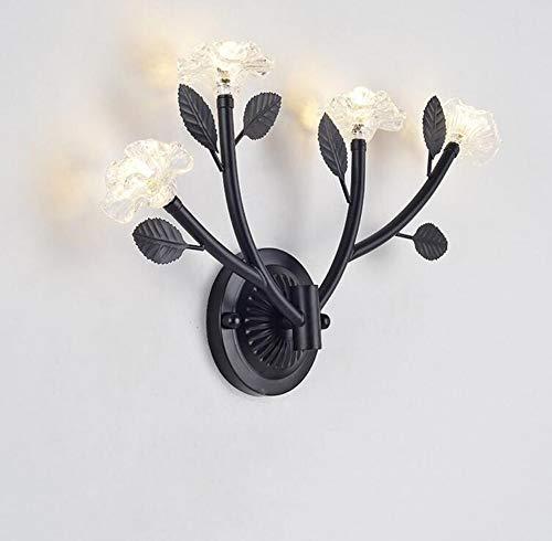 Retro Lightpostmodern Art Petal Wall Lamp Fixture Practical Led G9 Wall Lights Sconce Creative Flower Design Wall - Sconce Petal Flower Shade