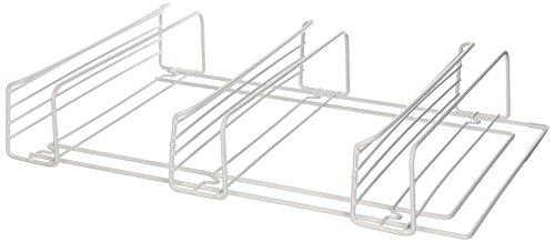 """3 Shelf Spice Rack (White) (11"""" W x 3.25"""" D x 18.125"""" H)"""