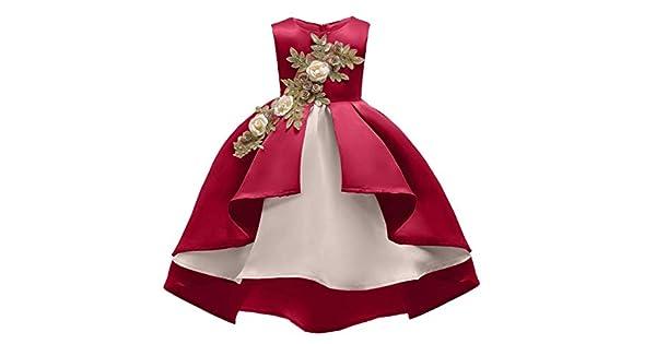 Gilrs Clothes For <b>Baby Girl</b> embroidery Silk Princess Dress <b>Kids</b> ...