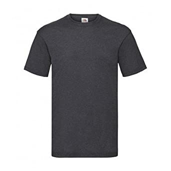 Fruit of the Loom Mens Valueweight Short Sleeved T Shirt Tee Up to 4XL
