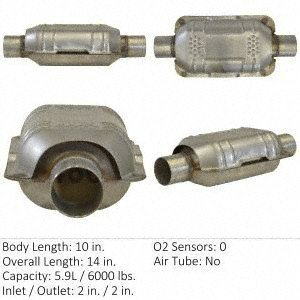 (Eastern Manufacturing 70316 Catalytic Converter (Non-CARB Compliant))