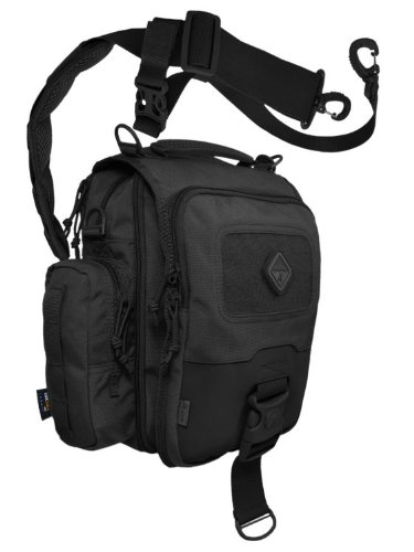HAZARD 4 Kato(TM) iPad/Tablet Mini-Messenger Bag w/MOLLE - Black