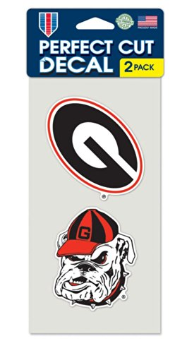 - Georgia Bulldogs Logo Die Cut Decals 2-Pack 4