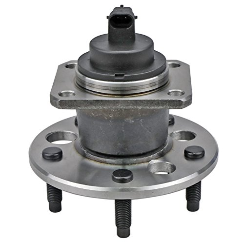 CRS NT512152 New Wheel Bearing Hub Assembly, Rear Left/Right, for Chevy 2001-2003 Malibu/ 2004-2005 Classic, 1999-2004 Oldsmobile Alero, Pontiac 1999-2005 Grand AM, w/ABS ()