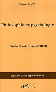 Philosophie et psychologie par Pierre Janet