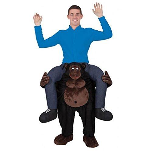 Riekinc Piggyback Costume Adult Ride on Costume Carry Me Costume Style