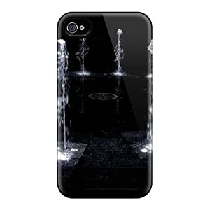 Snap-on Case Designed For Iphone 4/4s- Water Hole