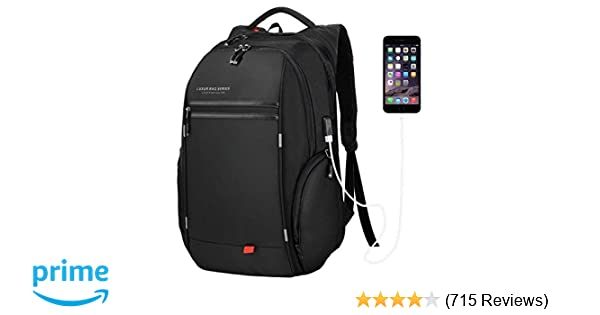 Amazon.com  LUXUR Business Laptop Backpack fd340ab56cd58