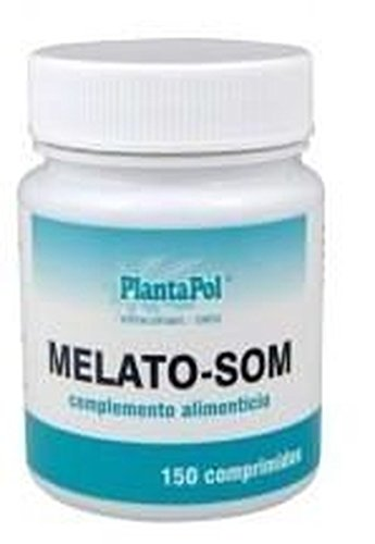 Melato-Som (Melatonina) 200 comprimidos de 1 mg de Plantapol