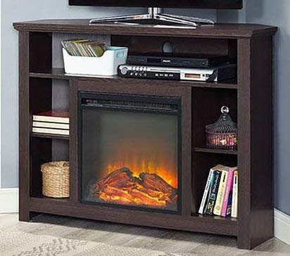 Amazoncom Tv Stand With Fireplace Space Heaters For Indoor