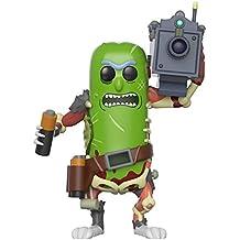 [Patrocinado] Pop Animation Morty-Pickle Rick - Figura coleccionable con láser, Multi Color