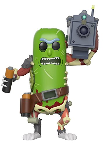 : Funko Pop Animation Morty-Pickle Rick with Laser Collectible Figure
