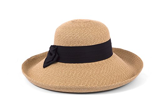 Gottex Vesper Large Brim Sunhat Packable, Adjustable and UPF Rated