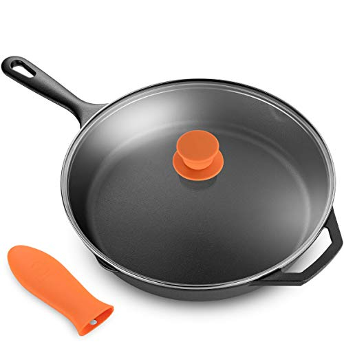 """Legend Cast Iron Skillet with Lid 
