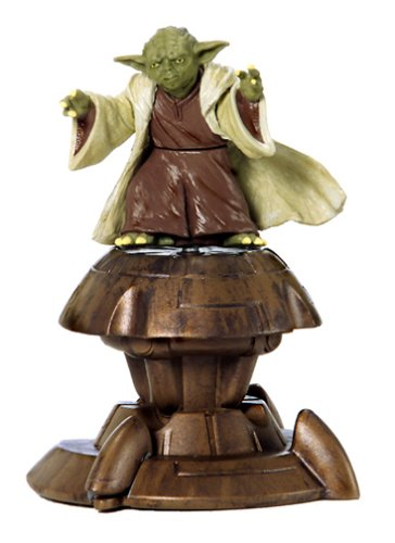 2002 Saga Collection Yoda Jedi Action Figure #23 3.75 Inches hasrbo 84615 Star Wars