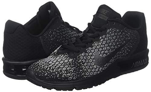 Chaussures Sequent Nike noir Loup Hommes Air Hmatite Noir Gris Mtallis Gymnastique 2 De Max Fonc 5YwqgY