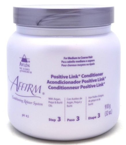 Affirm Conditioning Relaxer System Positive Link Conditioner 32 Fl Oz