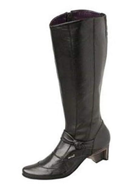 LISA TUCCI Stiefel Leder in Schwarz Gr. 35: