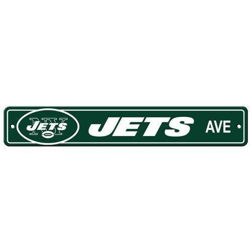カウくる NFLニューヨークJetsプラスチックStreet Sign B00OFV2W9W B00OFV2W9W, 卵とプリンの専門店花兄園:c82a6f40 --- movellplanejado.com.br