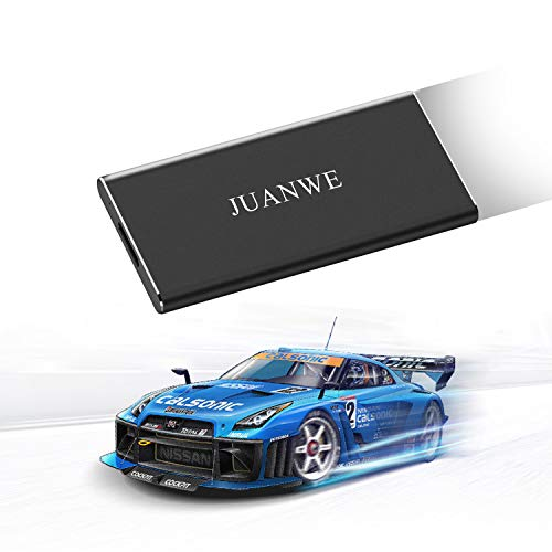 JUANWE 120GB USB 3.0 External Portable SSD, High Speed Read/Write Ultra Slim Solid State Drive - Black by JUANWE (Image #7)