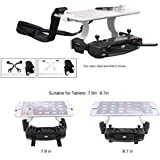 Hobby Signal Dual Hook Support 7.9in 9.7in Tablet Bracket Remote Controller Clip for DJI SPARK MAVIC PRO