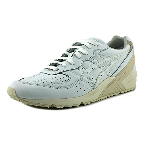 Tiger Leather Sneakers (Onitsuka Tiger Asics Unisex Gel-Sight White/White Sneaker Men's 9, Women's 10.5 Medium)