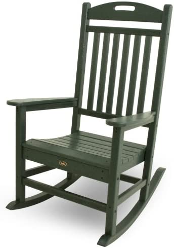 Trex Outdoor Furniture Yacht Club Rocker Chair, Rainforest Canopy