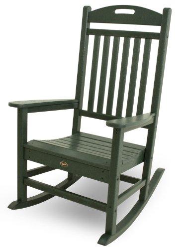 Trex Outdoor Furniture Yacht Club Rocker Chair, Rainforest Canopy