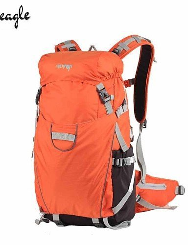 KOE Tourenrucks?cke/Kamerataschen/Radfahren Rucksack ( Schwarz/Orange , 35 L) Wasserdicht/Regendicht/tragbar/MultifunktionsCamping &