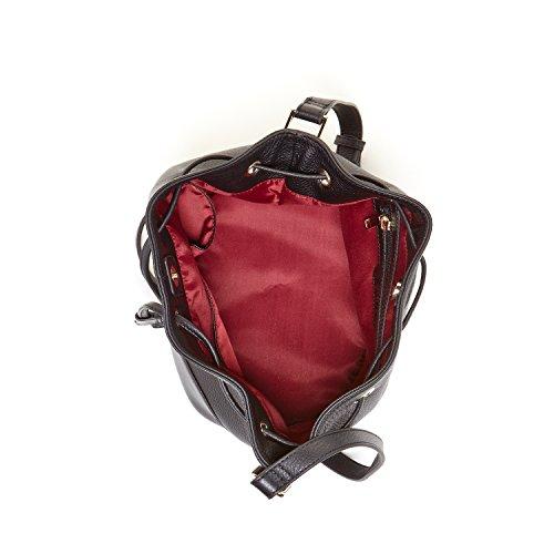 Ava Bag Black Bucket Leather Crossbody SUSU HqO0pq