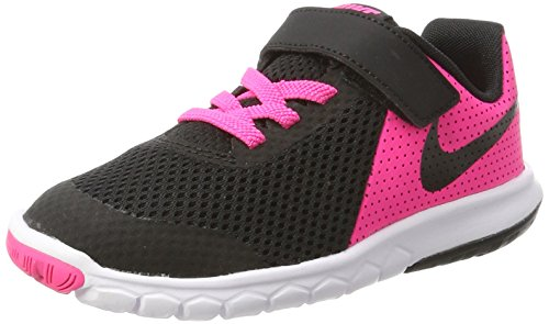 New Nike Girl's Flex Experience 5 Athletic Shoe Pink/Black 11.5 by NIKE
