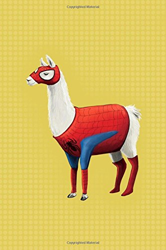 Spider Llama journal: 6 by 9 funny Spider-Man notebook pdf