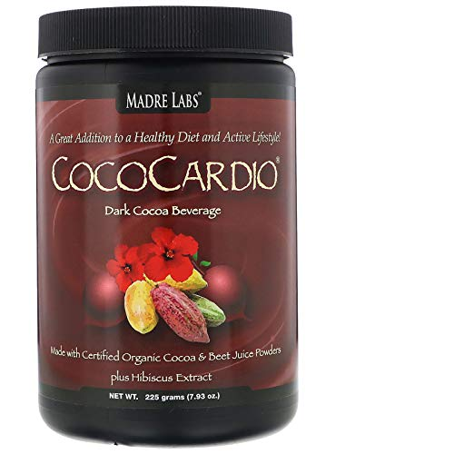 (Madre Labs, CocoCardio, Certified Organic Cocoa & Beet Juice Powders, Plus Hibiscus Extract, 7.93 oz. (225 g))