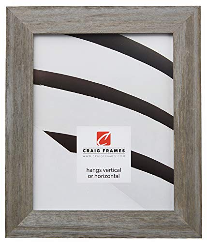 (Craig Frames Barnwood Chic, Rustic Hardwood Picture Frame, Gray, 16 by 20-Inch)