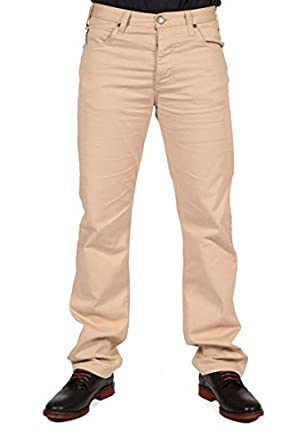 Image Unavailable. Image not available for. Colour  CLEARANCE ARMANI MENS CREAM  BEIGE CHINO DENIM JEANS ... 48939fff581b1