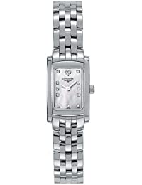 Longines DolceVita Mini White Mother of Pearl Dial Ladies Watch L5.158.4.94.6